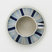 Jane Follett Pottery Blue Stripes Cup03