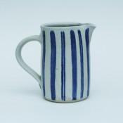 Jane Follett Pottery Colour Stripe Jug01