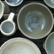 Jane Follett Pottery Plain Bowls Group01