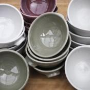 Jane Follett Pottery Plain Bowls Group03