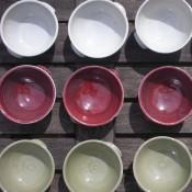 Jane Follett Pottery Plain Bowls Group04