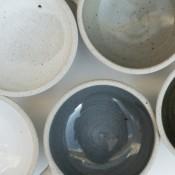Jane Follett Pottery Plain Bowls Group06