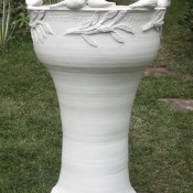 Jane Follett PotteryTall Pot04